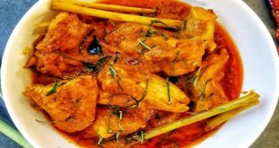 Chicken rendang, a dish best saved for special occasions